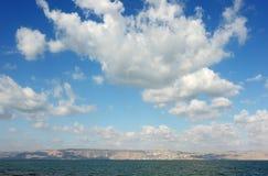 kinneret jutrzenkowy jezioro Obraz Stock
