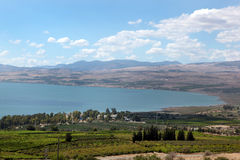 Kinneret lake. Israel. Stock Image