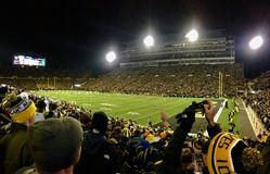 Kinnick at Night Stock Image