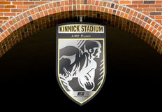 Kinnick Stadium Emblem and Seal Stock Image