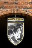 Kinnick Stadium Emblem and Seal Royalty Free Stock Photos