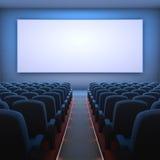 Kino-Bildschirm Stockbild