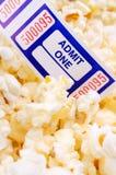 kino bilet Obrazy Royalty Free