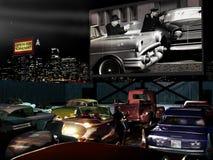 Kino drive-in   fotografia royalty free