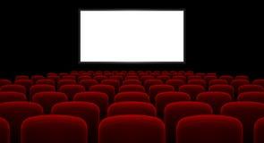 Kino Hall Lizenzfreie Stockbilder