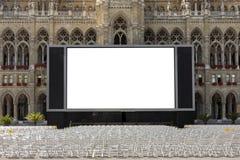 Kino im Freien lizenzfreie stockbilder