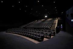 Kino-Innenraum Lizenzfreies Stockbild