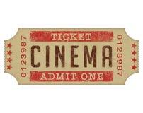 Kino-Karte Stockfoto