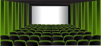 kino seans zielony izbowy ilustracja wektor