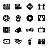 Kino und Filme Stockfotografie