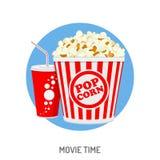 Kino- und Filmzeit stock abbildung