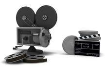 Kino und seine Attribute Stockbilder