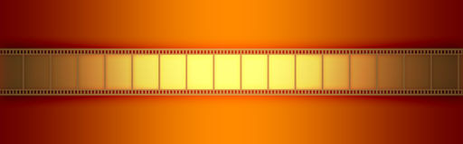 Kino-Video-Film stock abbildung