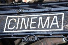 Kino znak Zdjęcie Royalty Free
