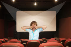 Kinograusigkeit Lizenzfreies Stockbild