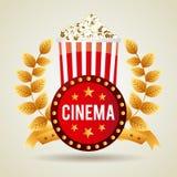 Kinoikonendesign Lizenzfreies Stockfoto