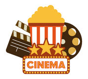 Kinoikonendesign Stockbild