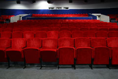 Kinoinnenraum 3 Stockbilder