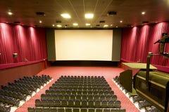 Kinoinnenraum Lizenzfreie Stockfotografie