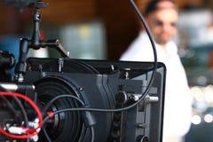Kinokamera stockbild