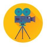 Kinokameraikone Stockbild