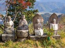 Kinosaki est petite ville pour onsen (batte chaude publique de style japonais Image libre de droits