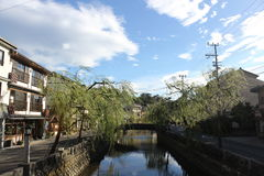 Kinosaki Hot Springs Japan royalty free stock photo