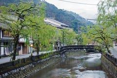 Kinosaki onsen staden Royaltyfria Foton