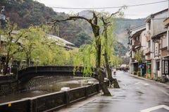 Kinosaki onsen Stadt Lizenzfreie Stockbilder
