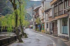 Kinosaki onsen Stadt Stockbild