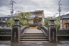 Kinosaki onsen Stadt Stockfotos