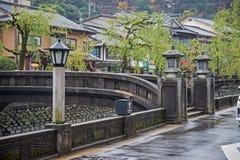 Kinosaki onsen Stadt Stockbilder