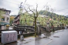 Kinosaki onsen town Stock Photography