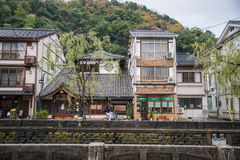 Kinosaki onsen town Stock Images
