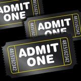 kinowi bilety Zdjęcie Royalty Free