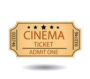 Kinowi bilety Obraz Royalty Free