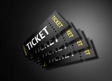 kinowi bilety Fotografia Stock