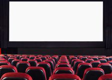 Kinowy audytorium obraz royalty free