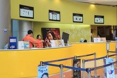 Kinowy biletowy biuro Zdjęcia Royalty Free