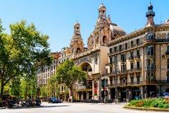 Kinowy kolosseum w Barcelona Obraz Royalty Free