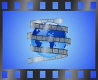 kinowy świat Zdjęcia Stock