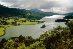 kinross λίμνη Περθ Σκωτία tummel Στοκ Εικόνα