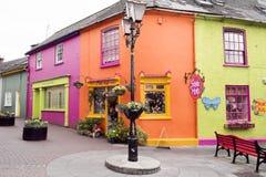 Kinsale colorido, Irlanda fotos de stock
