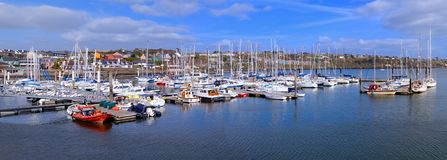 Kinsale harbour. View of the beautiful harbour of Kinsale, Ireland Royalty Free Stock Images