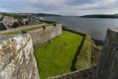 Kinsale Irlanda 004 de la fortaleza de Charles Foto de archivo