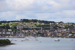 Kinsale - Irlanda Foto de Stock Royalty Free