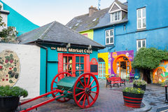 Kinsale ståndsmässig kork, Republiken Irland Arkivbilder