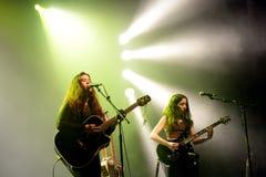 Kinsale zespół w koncercie przy Razzmatazz sceną Zdjęcie Stock