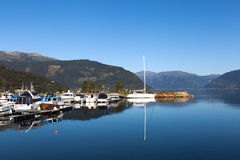 Kinsarvik Νορβηγία Στοκ εικόνες με δικαίωμα ελεύθερης χρήσης