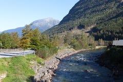Kinsarvik noorwegen Stock Afbeelding